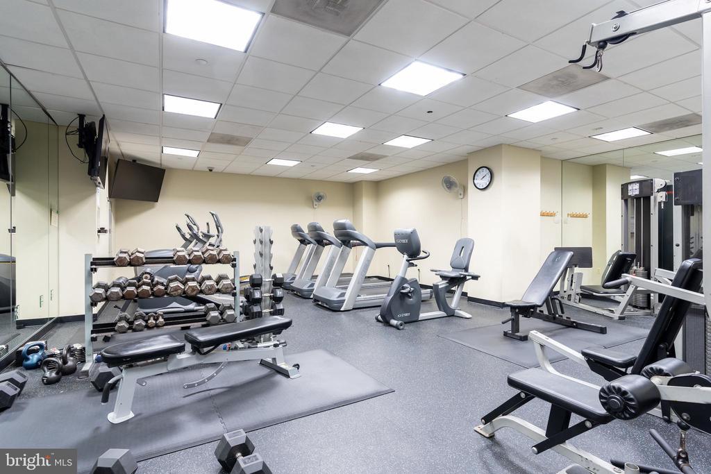 Large fitness center - 1150 K ST NW #411, WASHINGTON