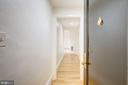 Entrance hall  with hardwood floors - 2153 CALIFORNIA ST NW #306, WASHINGTON
