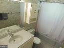 Hall bath - 5825 BROOKVIEW DR, ALEXANDRIA