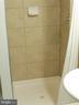 Basement shower - 5825 BROOKVIEW DR, ALEXANDRIA