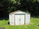 Storage shed - 5825 BROOKVIEW DR, ALEXANDRIA