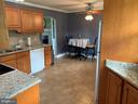 Open, comfortable kitchen - 11504 HESSONG BRIDGE RD, THURMONT