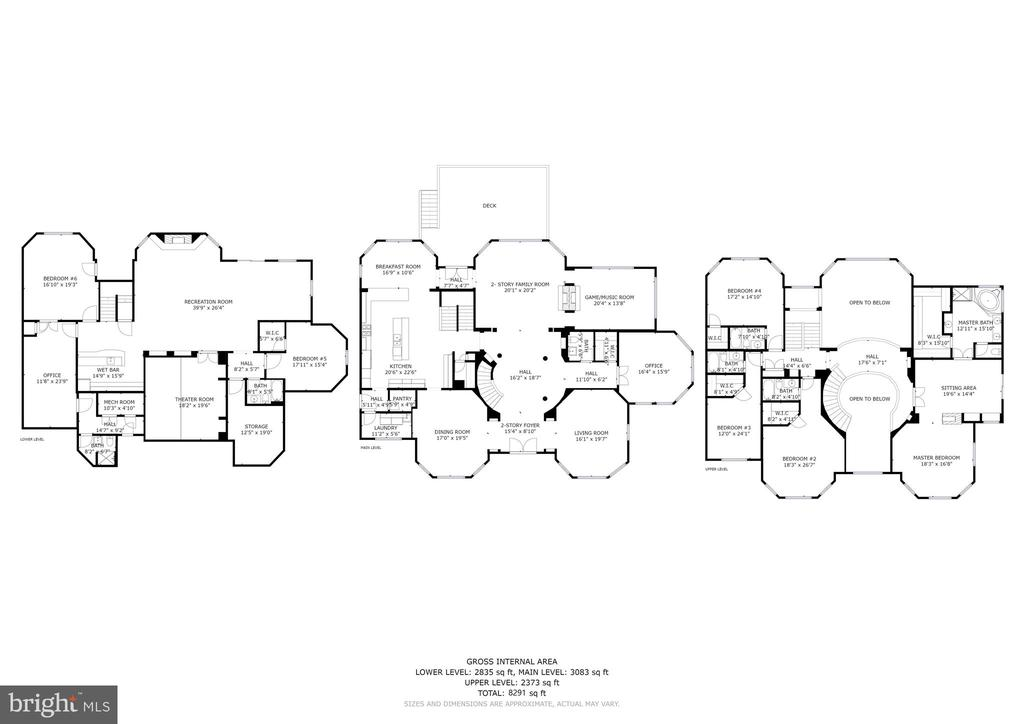 Individual level floor plans in documents section - 11418 WAPLES MILL RD, OAKTON