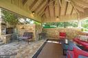 Covered patio - 40850 ROBIN CIR, LEESBURG