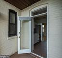Balcony off kitchen with French door - 2153 CALIFORNIA ST NW #306, WASHINGTON