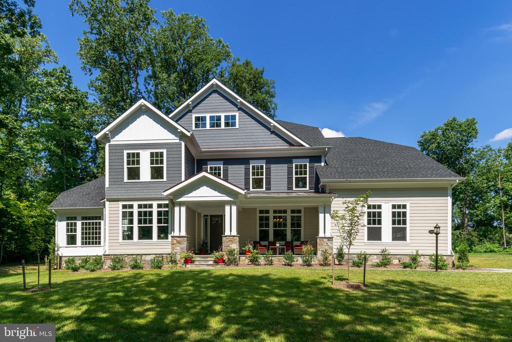 Beautiful Craftsman Exterior (photo of model home) - 3007 WEBER PL, OAKTON