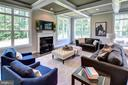 Inviting  Family Room (previous model pic) - 3007 WEBER PL, OAKTON