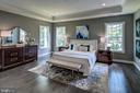 Owner's Bedroom (previous model pic) - 3007 WEBER PL, OAKTON