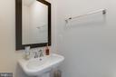 Half Bath on main level - 23109 COTTONWILLOW SQ, BRAMBLETON