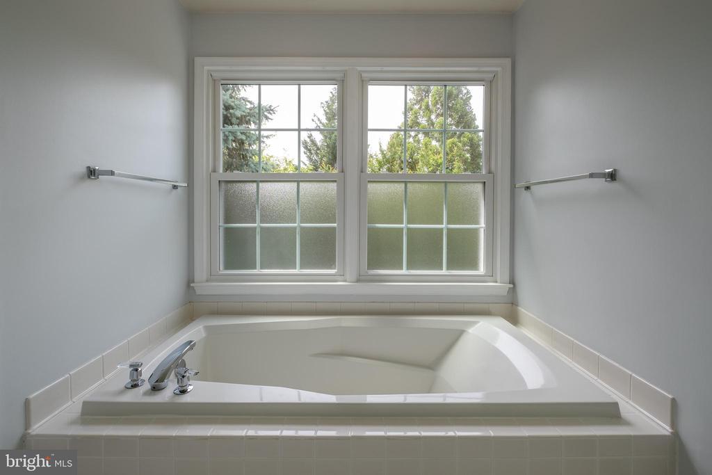 Master bathroom: Soaking tub - 206 PRIMROSE CT SW, LEESBURG