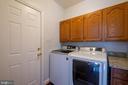 Laundry room w/o to garage - 206 PRIMROSE CT SW, LEESBURG