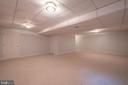 Spacious Recreation/game room - 206 PRIMROSE CT SW, LEESBURG