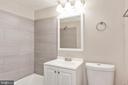 main  bathroom - 3813 SWANN RD #1, SUITLAND