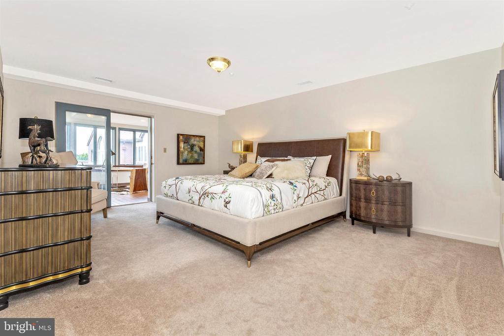 Master bedroom - 102 MERCER CT #25  6, FREDERICK