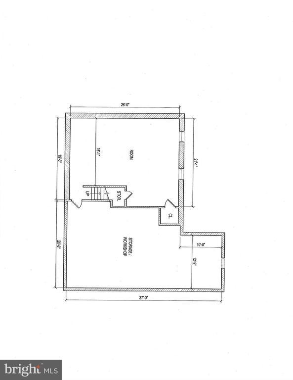 Lower Level Floor Plan - 206 PRIMROSE CT SW, LEESBURG