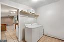 Laundry room - 535 MT PLEASANT DR, LOCUST GROVE