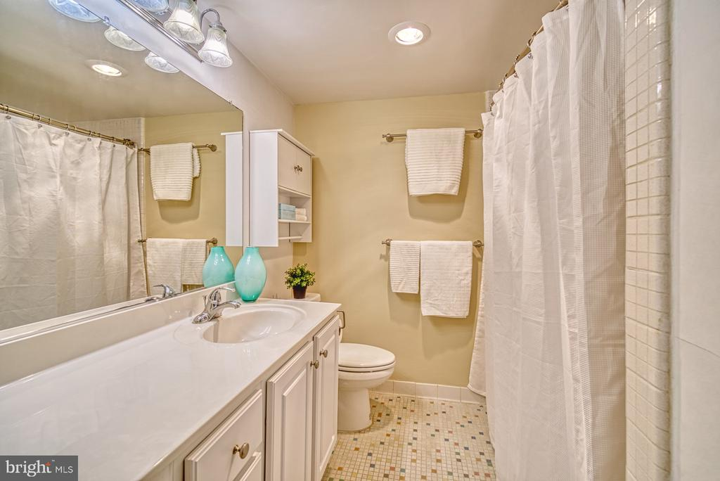 Plenty of counter top space in the bathroom - 10570 MAIN ST #325, FAIRFAX