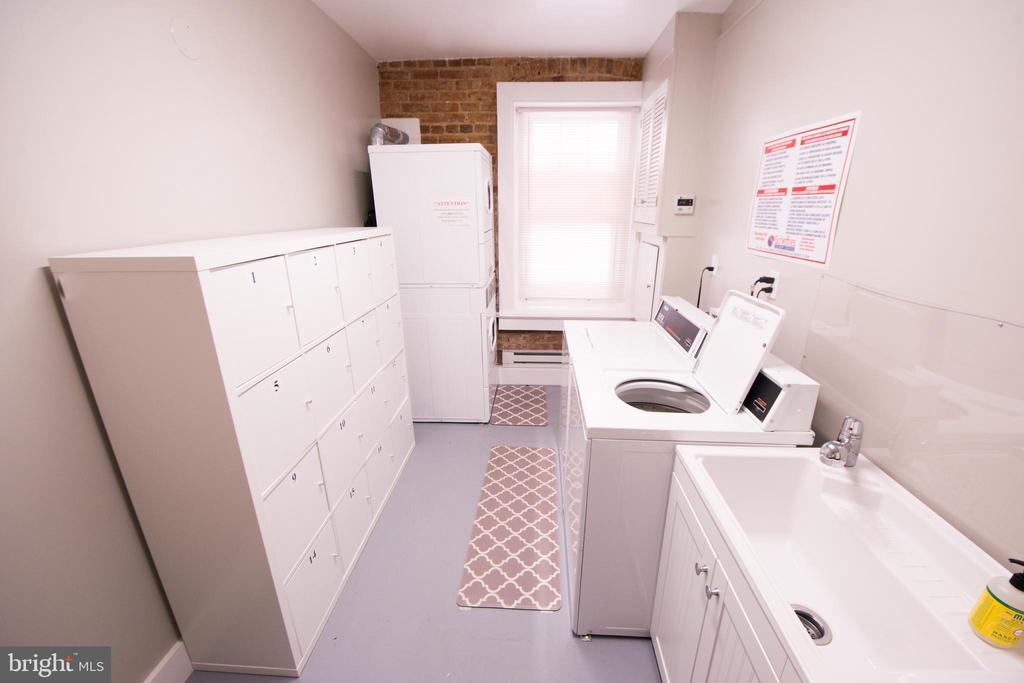 Laundry with private storage - 115 2ND ST NE #16, WASHINGTON