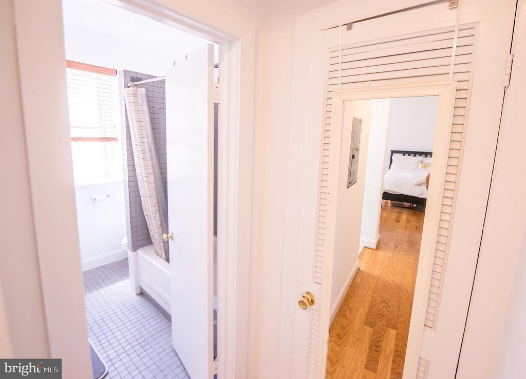 Hallway - 115 2ND ST NE #16, WASHINGTON