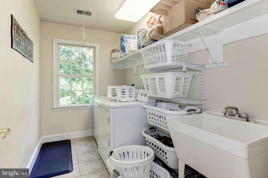 Large Laundry Room on Upper Level - 16215 CYPRESS CT, DUMFRIES