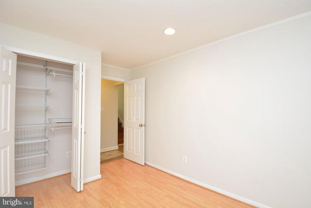 Plenty of storage in lower level bedroom - 7701 HEMING PL, SPRINGFIELD