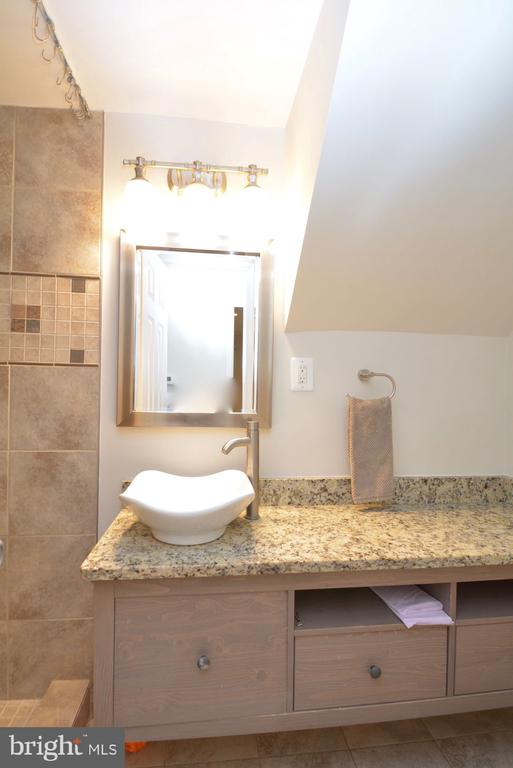 Nicely tiled lower level bathroom - 7701 HEMING PL, SPRINGFIELD