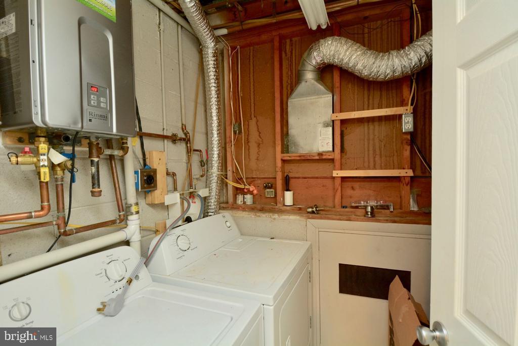 Separate lower level Laundry Room. - 7701 HEMING PL, SPRINGFIELD