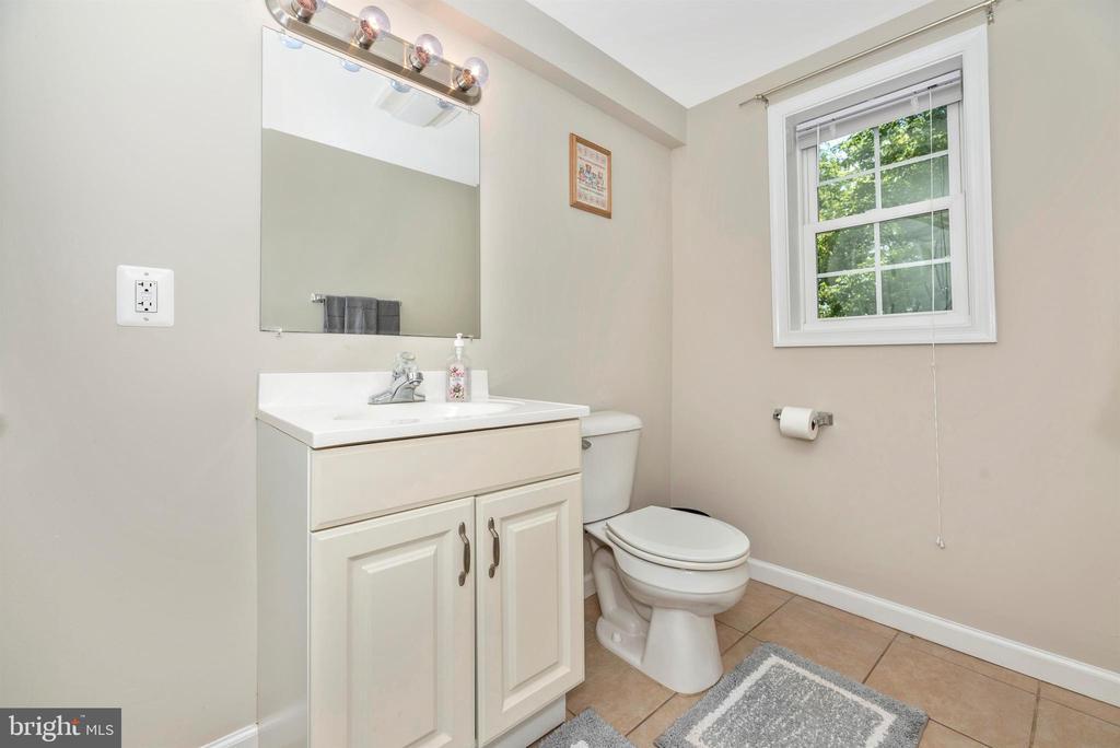 Main level half bathroom. - 4110 SHADY LN, KNOXVILLE