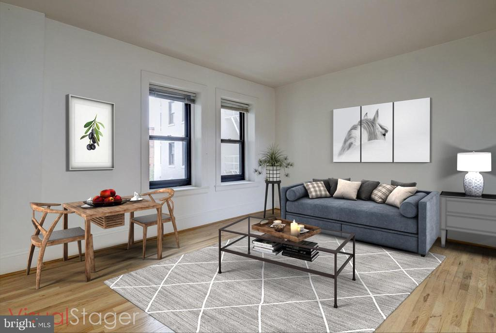 Lovely bright  studio with southern exposure - 2153 CALIFORNIA ST NW #306, WASHINGTON