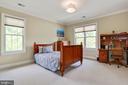 fourth bedroom with space for desk - 3401 N KENSINGTON ST, ARLINGTON