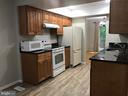 kitchen with granite counter, new  flooring - 11908 BARGATE CT, ROCKVILLE
