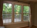 view from living room - 11908 BARGATE CT, ROCKVILLE