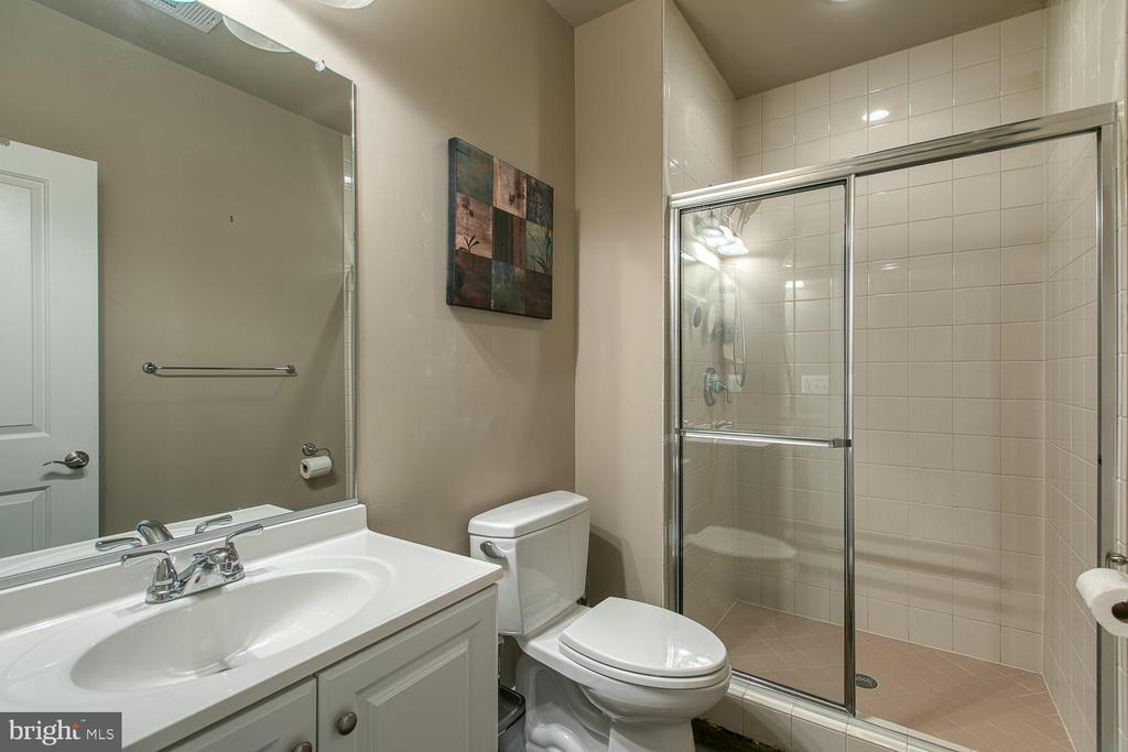 Lower Level full bathroom - 3519 LAKE ST, FALLS CHURCH
