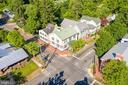 Aerial view of Home on W German St. - 300 W GERMAN ST, SHEPHERDSTOWN