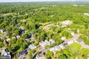 Aerial View of Home  w beautiful surrounds - 300 W GERMAN ST, SHEPHERDSTOWN