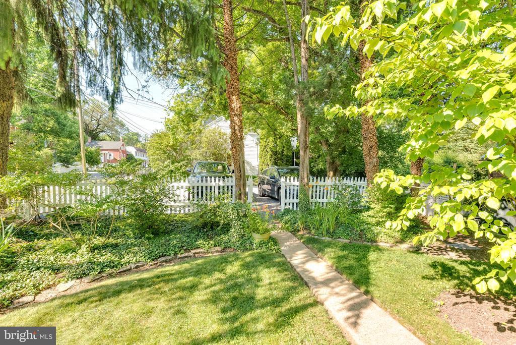 Back yard of Home - 300 W GERMAN ST, SHEPHERDSTOWN