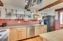 Well designed kitchen, hardwood floors - 300 W GERMAN ST, SHEPHERDSTOWN