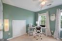 2nd top level bedroom/office - 13011 PARK CRESCENT CIR, HERNDON
