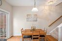 Breakfast room - 13011 PARK CRESCENT CIR, HERNDON