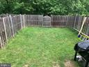Backyard - 14118 BUCK HILL CT, BURTONSVILLE