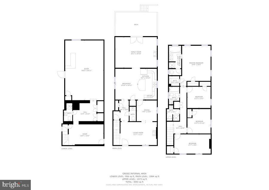 Floor plans - 5715 7TH ST N, ARLINGTON