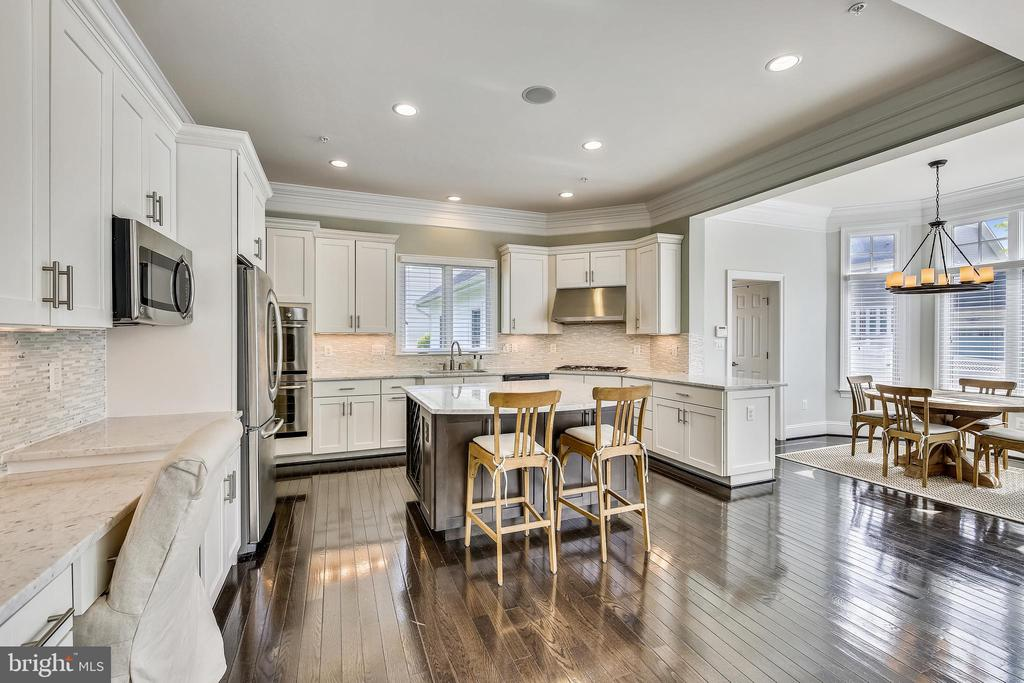 Stainless appliances and 42in cabinets - 8 BULLARD CIR, ROCKVILLE