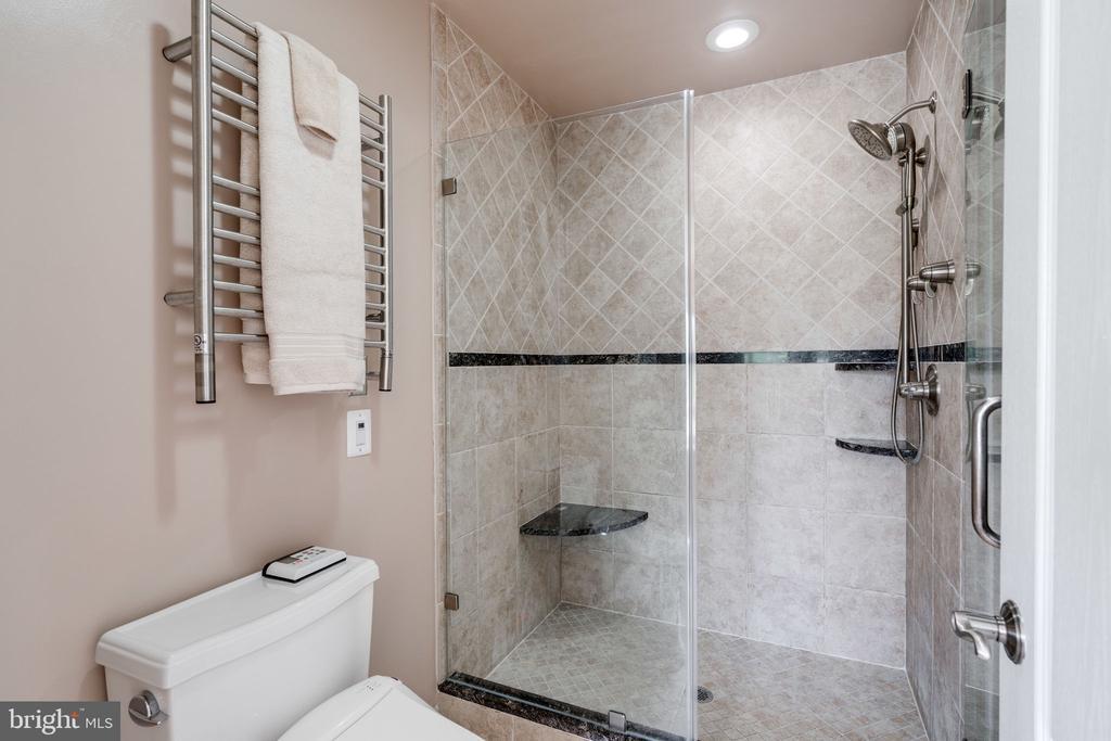 Master Bath - Frame-less Shower - 9413 ENGLEFIELD CT, FAIRFAX STATION