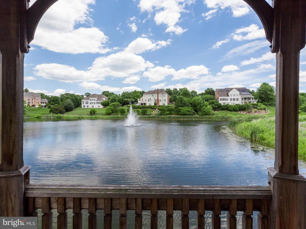 Community lake. - 2796 MARSHALL LAKE DR, OAKTON