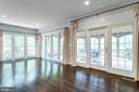 Sun room opens to large screened porch. - 2796 MARSHALL LAKE DR, OAKTON