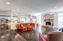 Great room. - 2796 MARSHALL LAKE DR, OAKTON