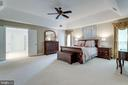 Owner's suite. - 2796 MARSHALL LAKE DR, OAKTON