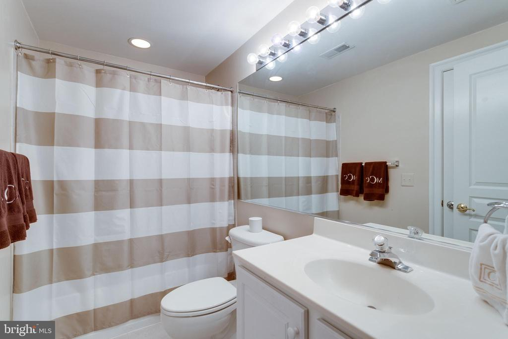 Lower level full bath. - 2796 MARSHALL LAKE DR, OAKTON