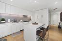 European kitchen with Italian high-gloss cabintery - 1111 24TH ST NW #42, WASHINGTON