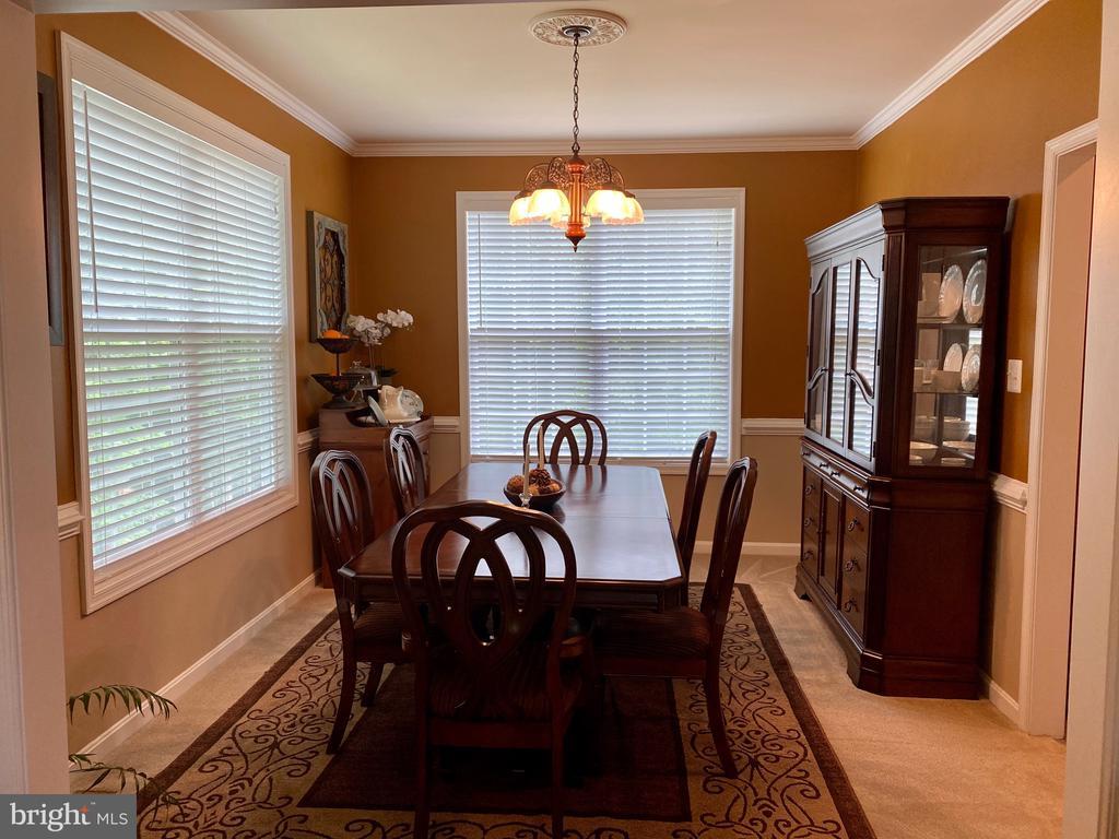Elegant Formal Dinning room - 3545 GROUSE POINTE DR, STAFFORD